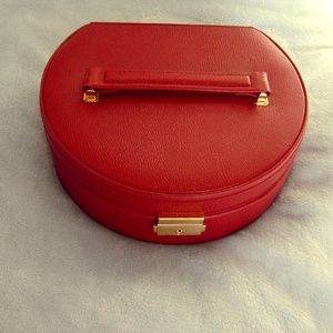 Other - Red Leather Jewel Box - NWOT